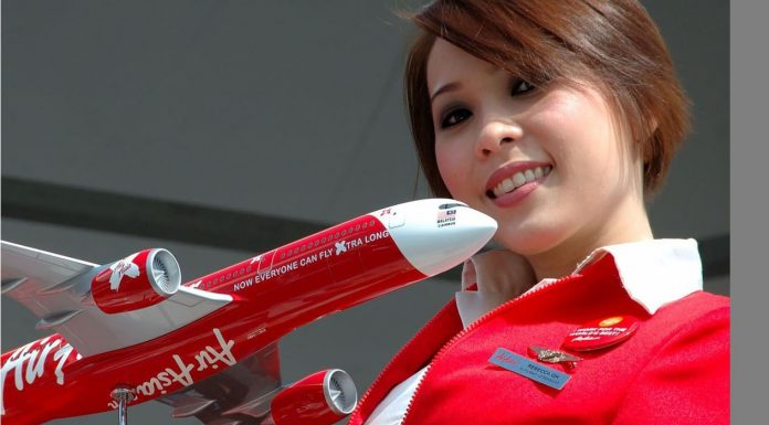 Lựa chọn chỗ ngồi trên chuyến bay của Air Asia