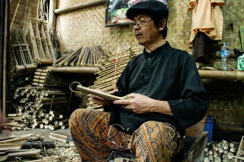 Độc đáo đàn tre của người Indonesia