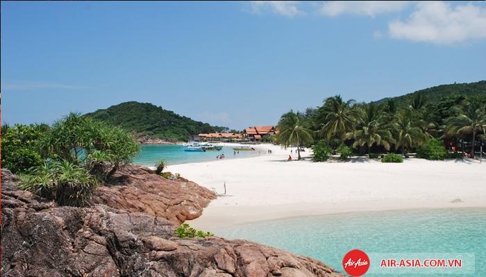 Cảnh biển đẹp mê hồn ở Malaysia