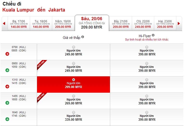 Du lịch Indonesia cùng Air Asia