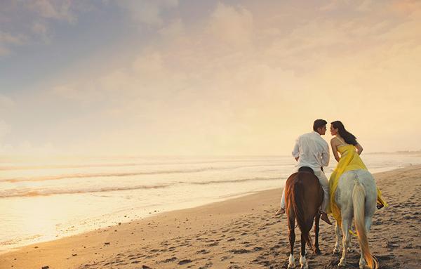 Chụp ảnh cưới lãng mạn tại Bali
