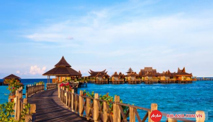 Khách sạn trên biển tại Malaysia