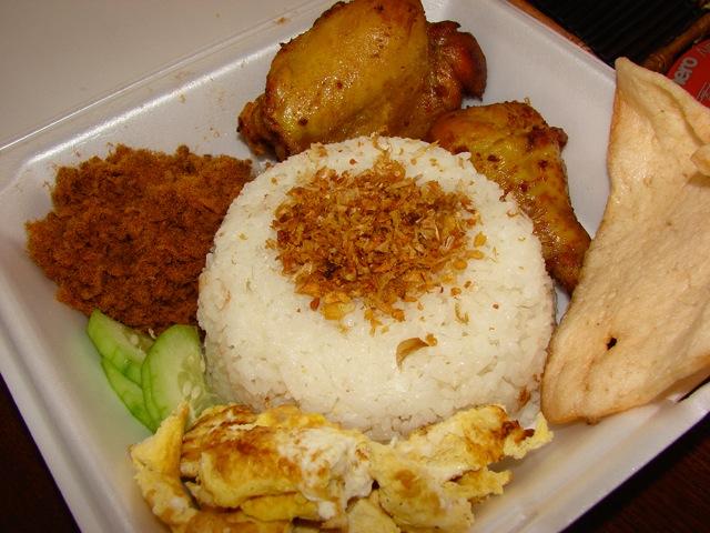 Những món ăn sáng hấp dẫn làm từ gạo ở Indonesia