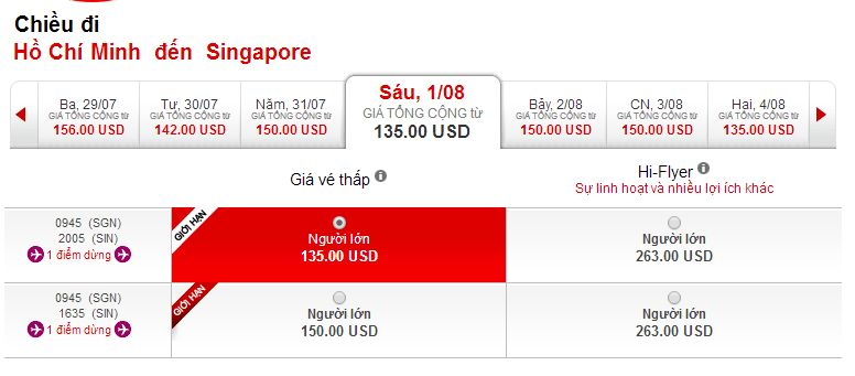 Du học Singapore cùng Air Asia
