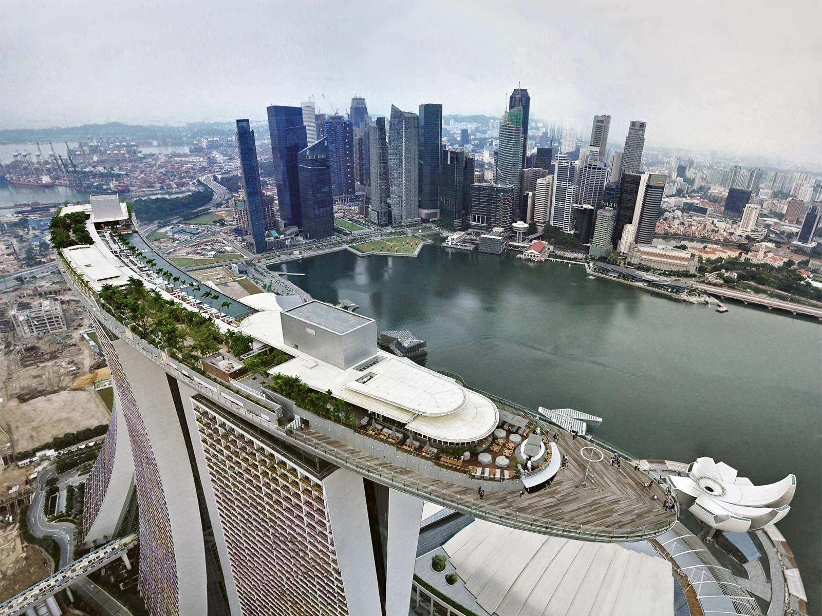 Vẻ đẹp hài hòa giữa truyền thống và hiện đại ở Singapore