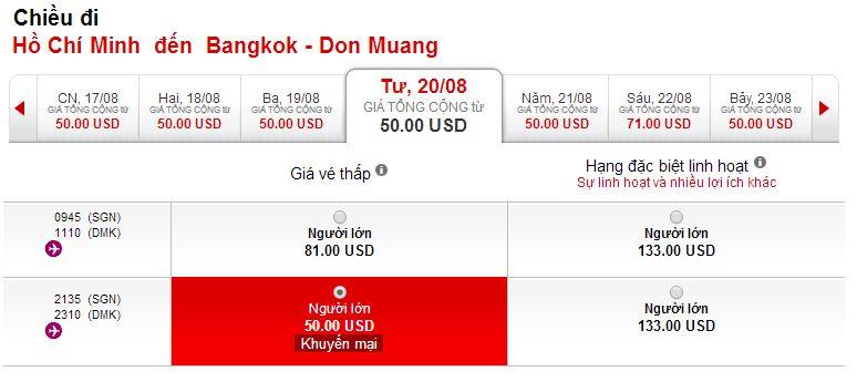 Mua vé máy bay đi Thái Lan giá rẻ