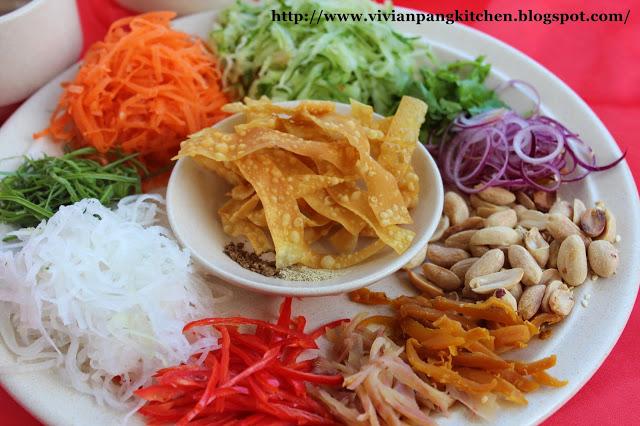 Hương vị ngày Tết của Malaysia qua món Yeesang