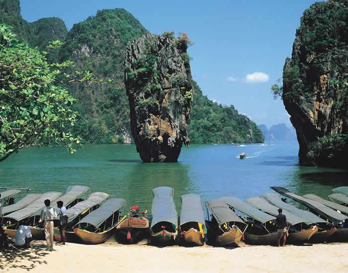 Đến Phuket khám phá đảo James Bond
