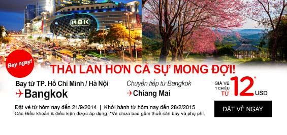 Du lịch Thái Lan siêu tiết kiệm