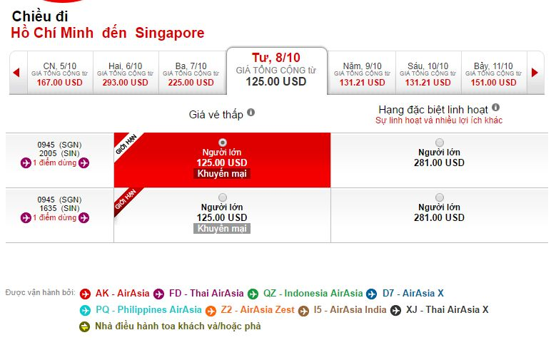 Mua vé máy bay đi Singapore ở đâu