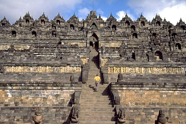 Borobudur đền thờ phật giáo lớn nhất Indonesia