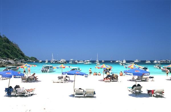 Bãi biển cát trắng