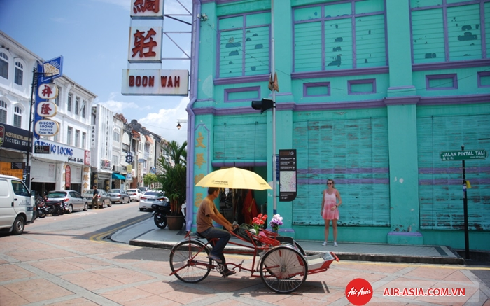 Phố cổ George Town ở Penang