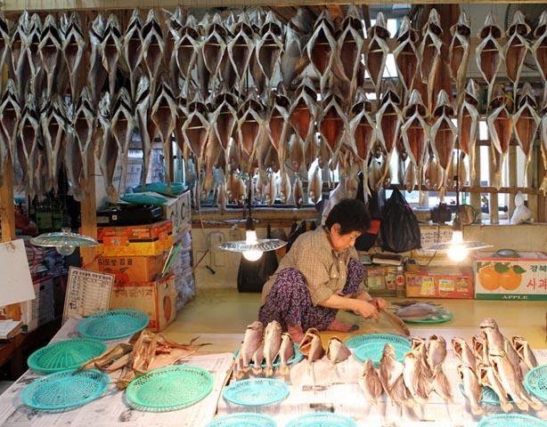 Chợ cá Jagalchi 1