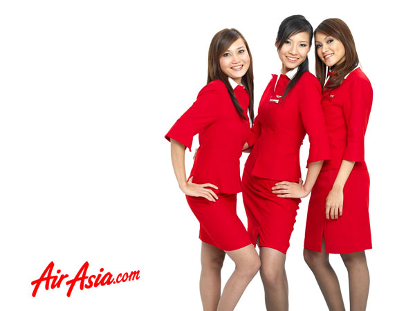 AirAsia photos cabin crew - Source AirAsia.Com