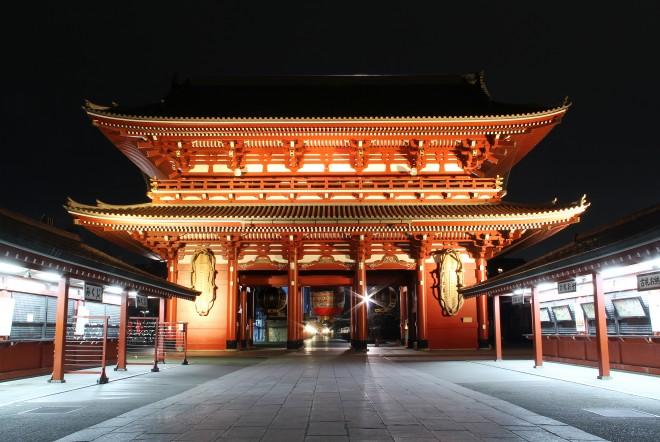 Tham quan đền Asakusa