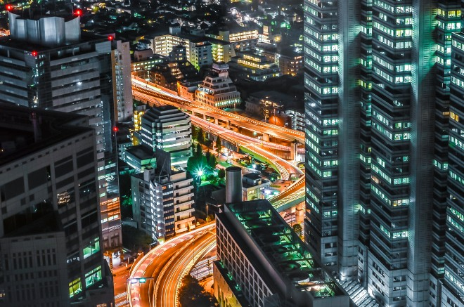 Ngắm nhìn Tokyo từ trên cao