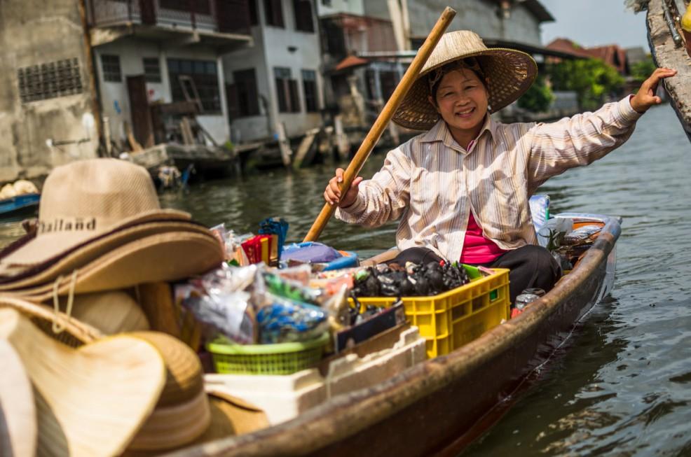 Chợ nổi Amphawa, Bangkok - Thái Lan