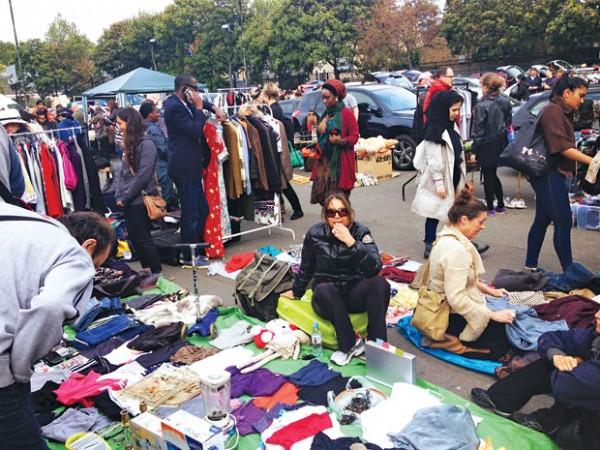 chợ đồ cũ london