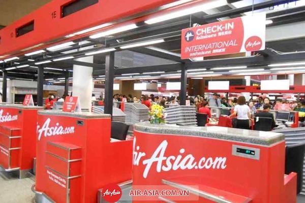 Tìm hiểu thủ tục lên máy bay của Air Asia - Đại lý Air