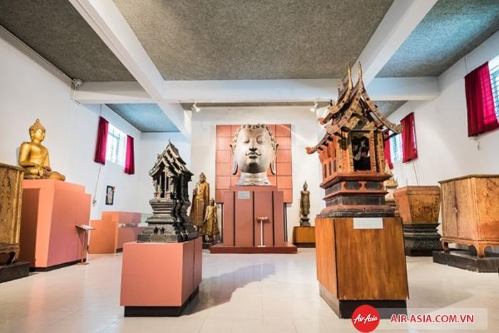 Bên trong bảo tàng Quốc Gia Chiang Mai