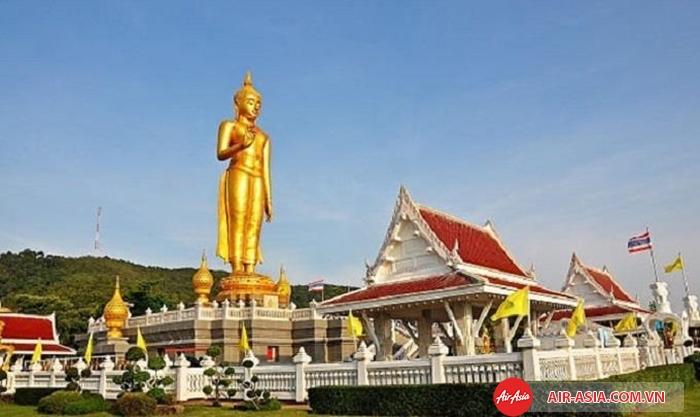Tượng Phật ở Hat Yai Nai