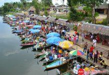 Chợ nổi ở Hat Yai