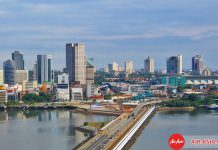 Toàn cảnh thành phố Johor Bahru