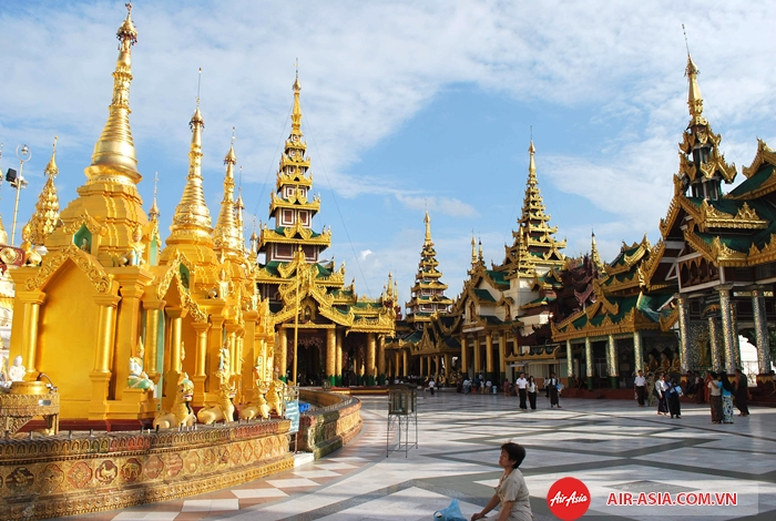 Chùa Phật Vàng ở Bangkok