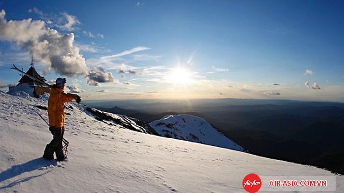 Mùa đông ở vùng Tasmania nước Úc
