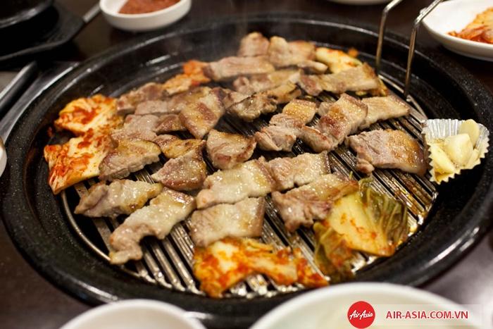 Samgyeopsal Hàn Quốc