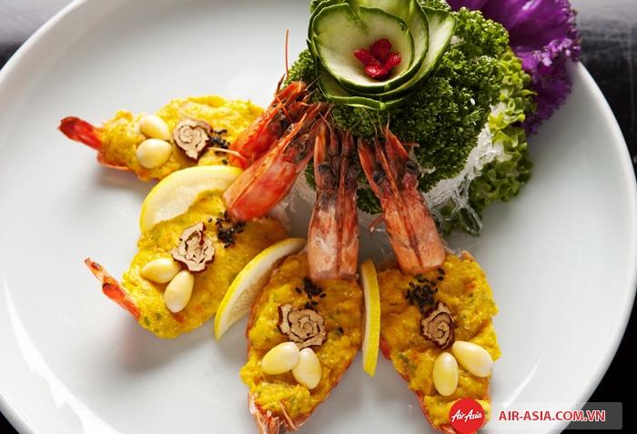 Món ăn được chế biến từ tôm Jumbo rất hấp dẫn