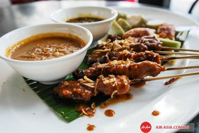Satay - một món ăn truyền thống của người Indonesia