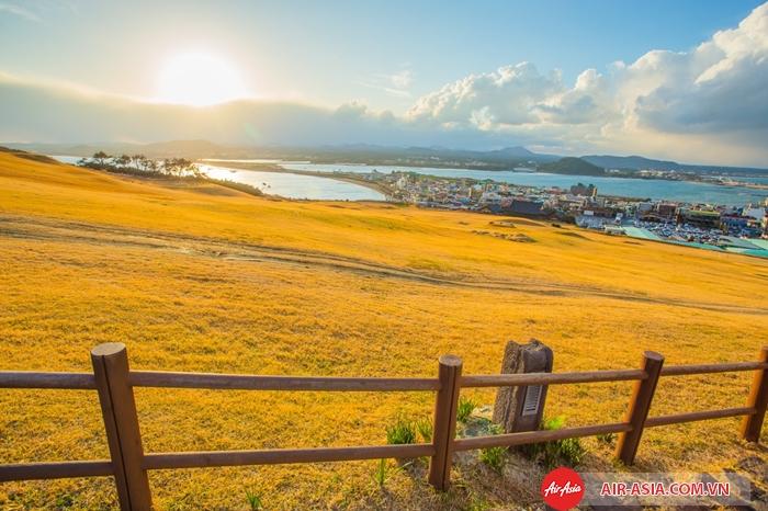 Jeju có cảnh quan thiên nhiên tuyệt đẹp