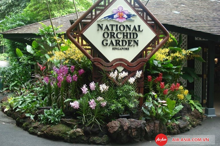 Thung lũng Orchid là nơi trồng vô số các loại hoa lan