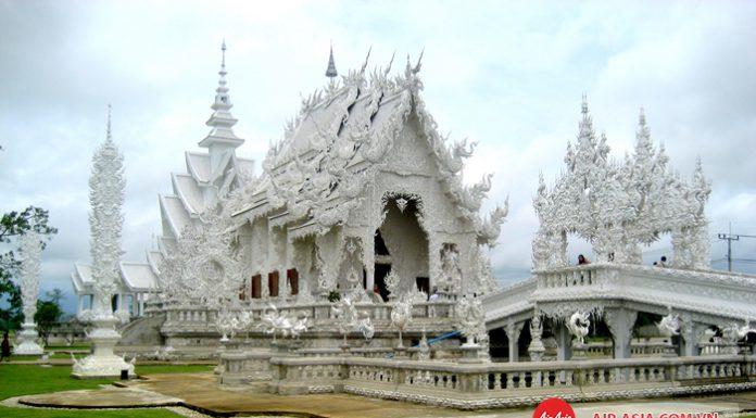 Chùa Trắng linh thiêng ở Chiang Rai