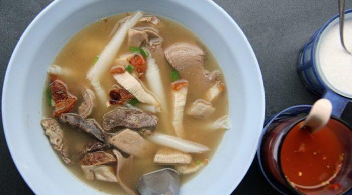 hủ tiếu Hồ của người Thái