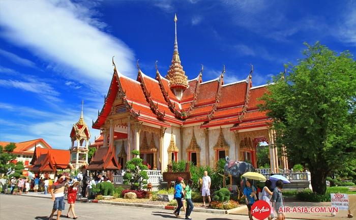 Chùa Wat Chalong ở Phuket