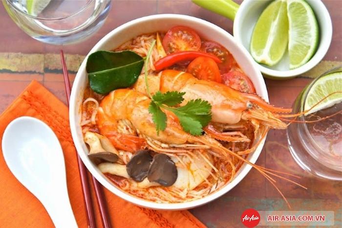 Ẩm thực Thái Lan có vị cay nóng đặc trưng