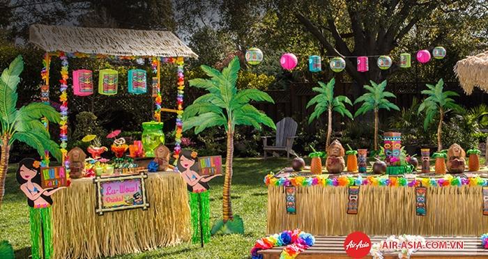 """Bữa tiệc """"Luau"""" ấn tượng tại Honolulu"""