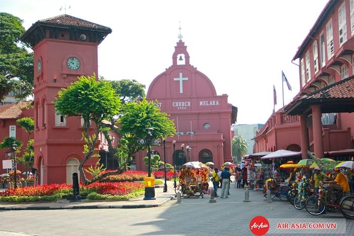 Malacca nổi tiếng với vẻ đẹp cổ kính xen lẫn hiện đại ấn tượng