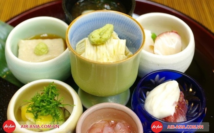Các món ăn của người Nhật thường thanh đạm và tốt cho sức khỏe