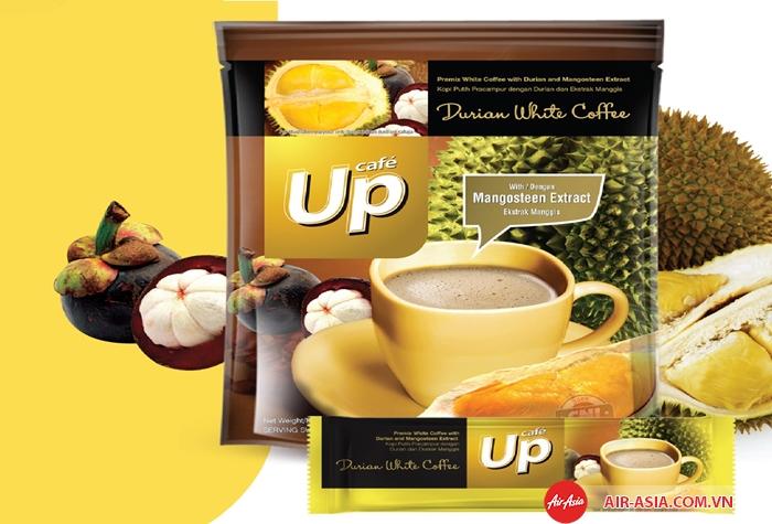Du khách có thể mua cafe sầu riêng về làm quà khi du lịch đến Malaysia