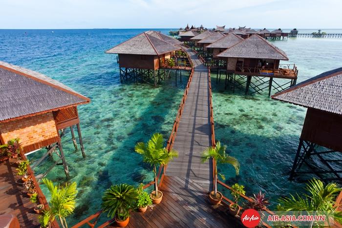 Những khách sạn trên biển như thế này là điểm nghỉ dưỡng thú vị cho du khách