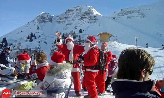 Đón Giáng sinh ở Blue Mountains