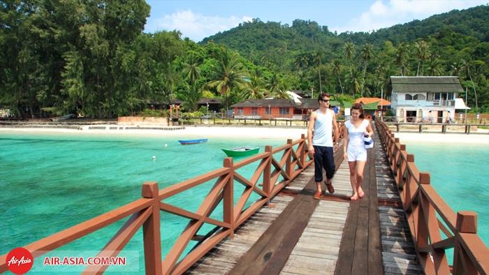 Bãi biển tuyệt đẹp ở Johor Bahru