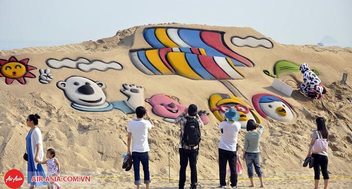 Lễ hội cát Busan Haeundae