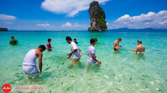 Những bãi biển ấm áp ở Thái Lan