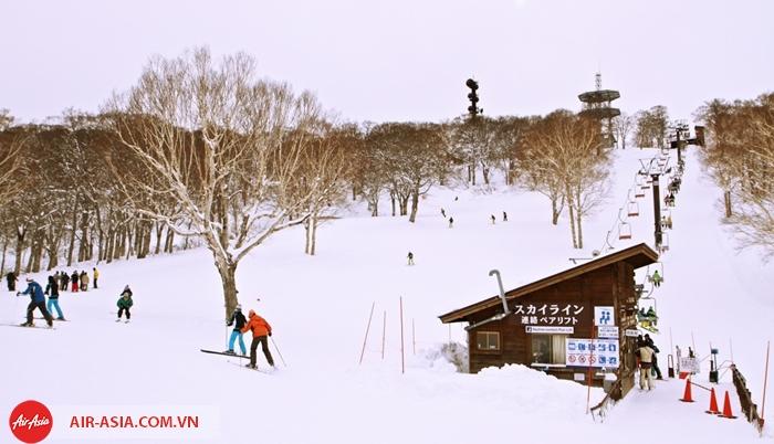 Trượt tuyết ở Nhật bản