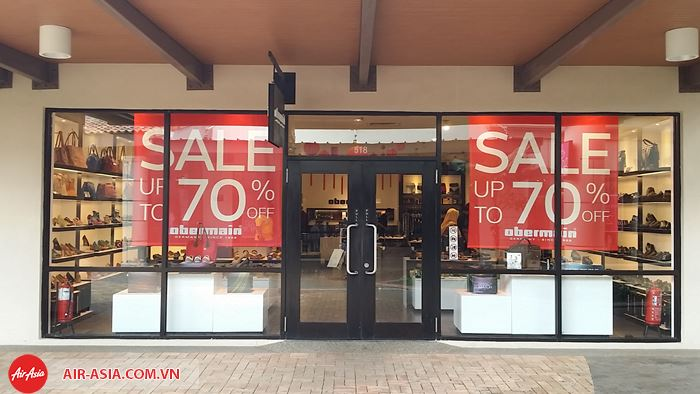 Johor Premium Outlet mùa sale